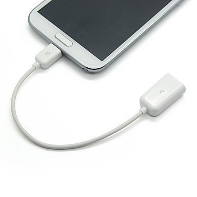 Micro USB OTG to USB 2.0 Cable Adapter for All Compatible Smartphones & Tablets