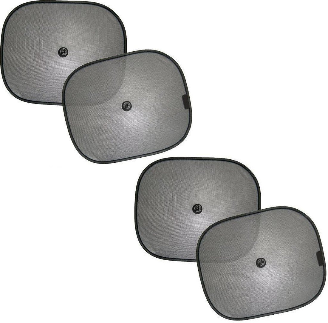 Black Foldable Sun Shade (Set of 4)