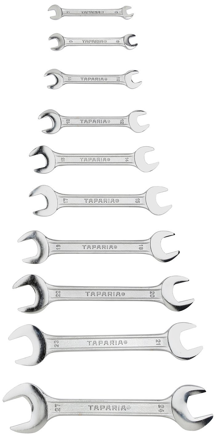 Double Ended Spanner Set