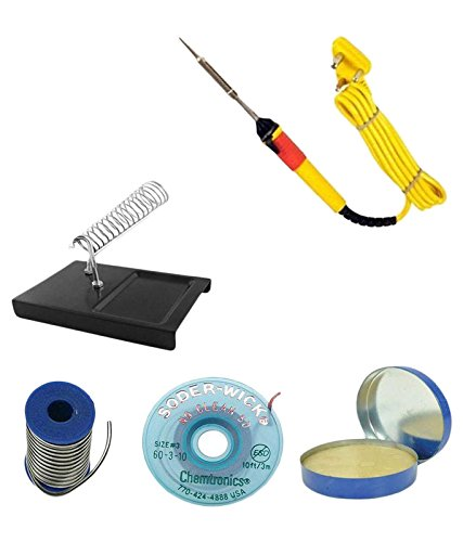 Electronics Soldering Iron Kit Combo